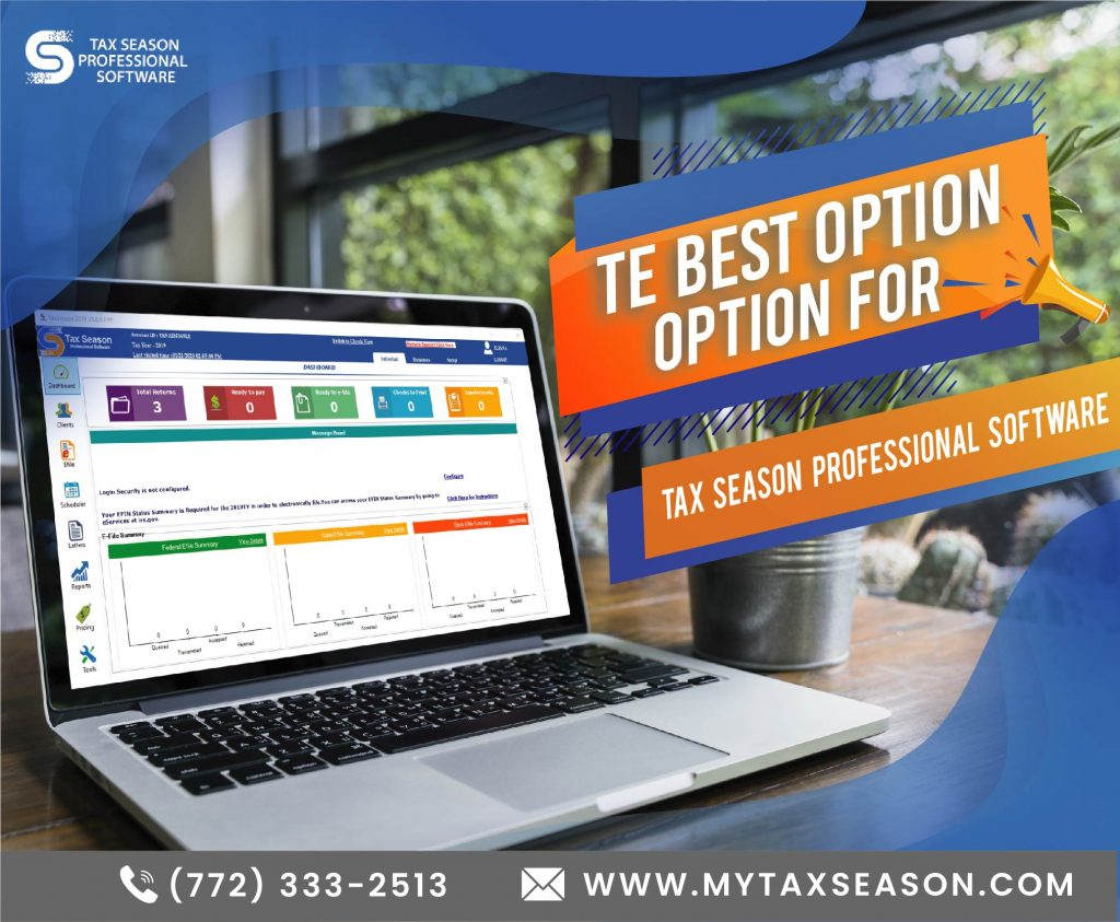 tax season software ad